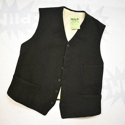 Vintage Black Waistcoat