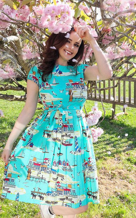 Run & Fly Seaside Tea Dress