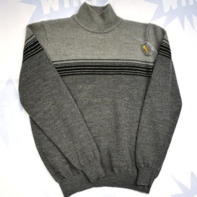Pure Wool Polo Neck Jumper
