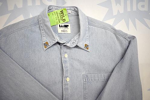 Denim Shirt - Embroidered