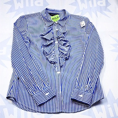 Blue Strip Ralph Lauren Blouse