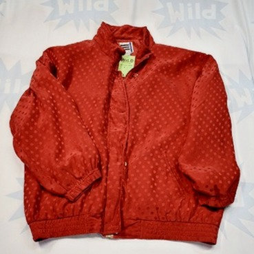 Large Red Nylon Jacket