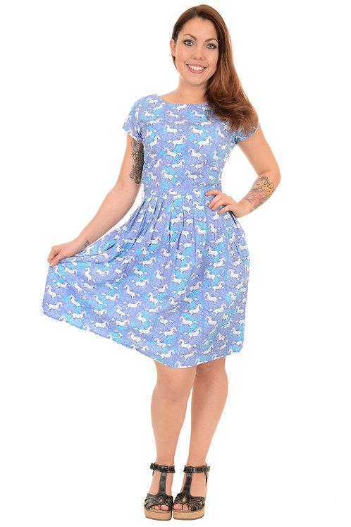 Run & Fly Unicorn Tea Dress