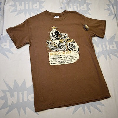 Vintage Motorcyclist Tee