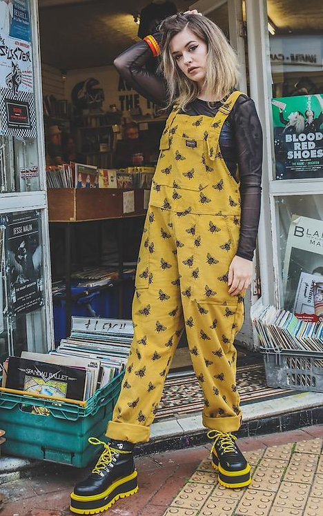 Run & Fly Bees Knees Corduroy Dungarees