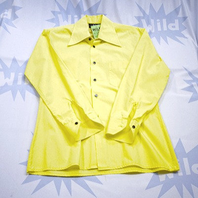 Canary Yellow Vintage 70's Shirt