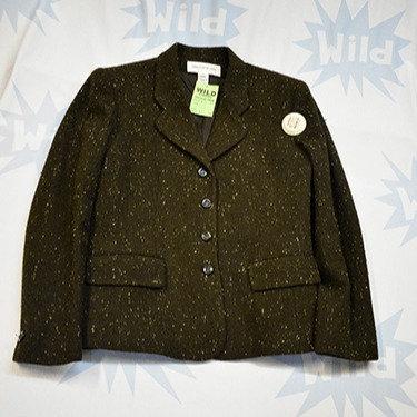 Brown Flecked Tweed Jacket