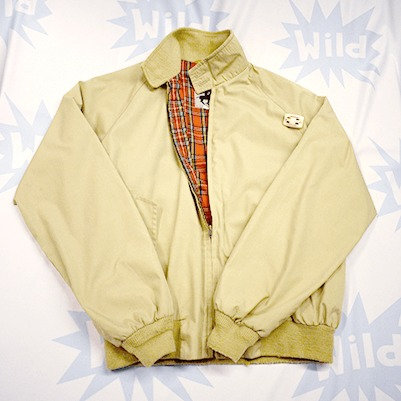 Beige Sports Jacket - HarringtonStyle