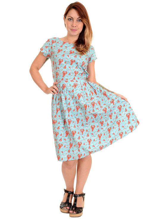Run & Fly Lobster Tea Party Dress
