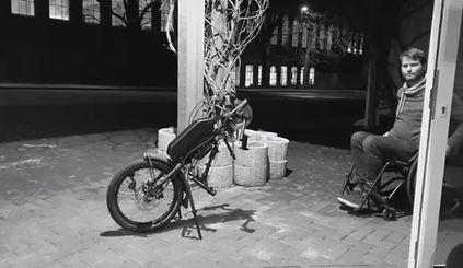 Ankopplung des Schmicking Bikes