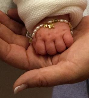 Babyschmuck, Armbändchen, Geschenke zur Geburt für die Mutter, Babybracelet