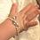 Wertvolles Echtperlen-Bracelet für das baby