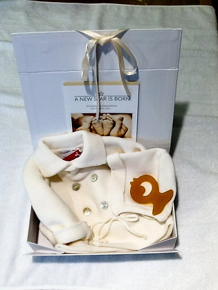 Geschenkebox zur Geburt, Babykleidung, was schenke ich zur Geburt, Newborns
