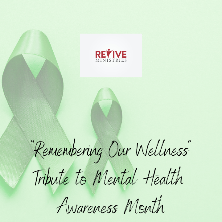 """""""Remembering Our Wellness""""Tribute to Mental Health Awareness Month With Saeda"""