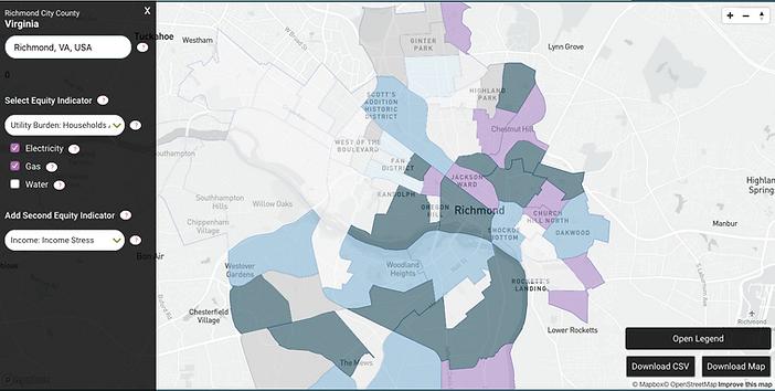 Richmond-Virginia-Utility-Burden-Income-