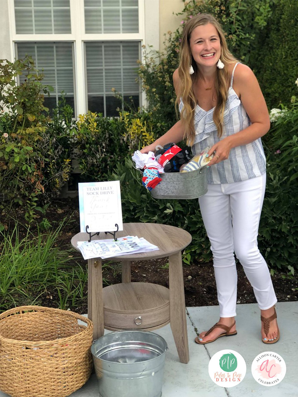sock drive, sock collection, favorite things party