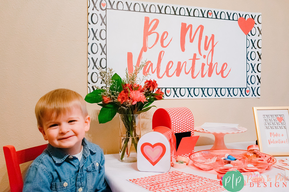Valentine Party Ideas for kids, Valentines Banner
