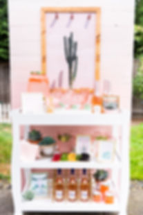 Rosé All Day | Palm Springs Bar Cart