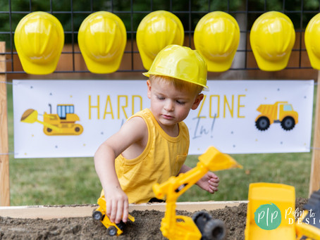 A Construction Theme Boys Birthday Party | Construction Birthday