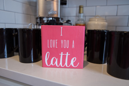 Valentine's Coffee Bar Ideas