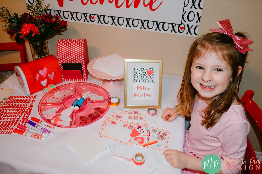 Valentine Card Making Party for Kids