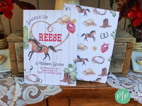 Cowgirl Birthday Party | Girls Western Birthday | Rodeo Birthday