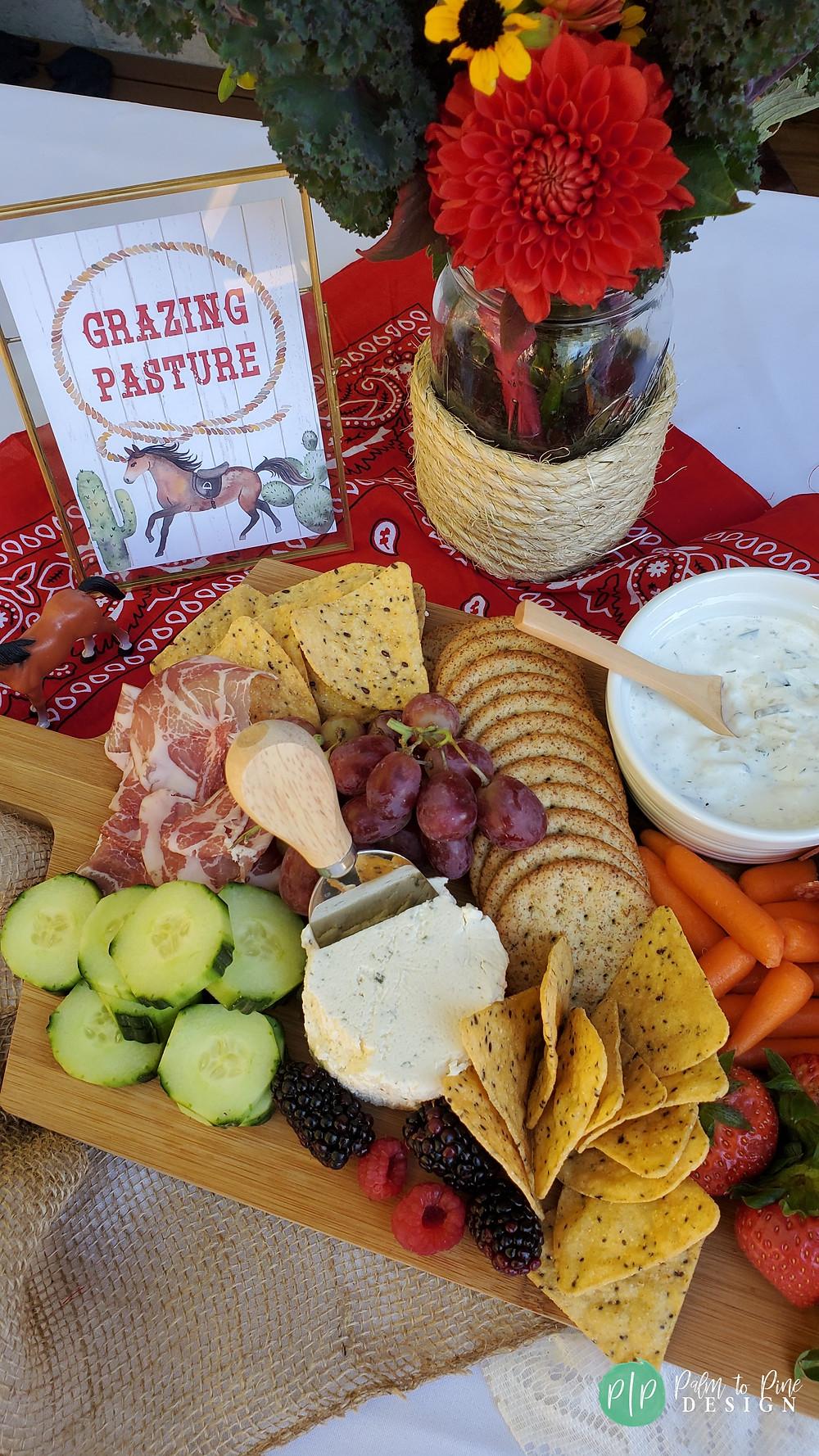 western birthday party food