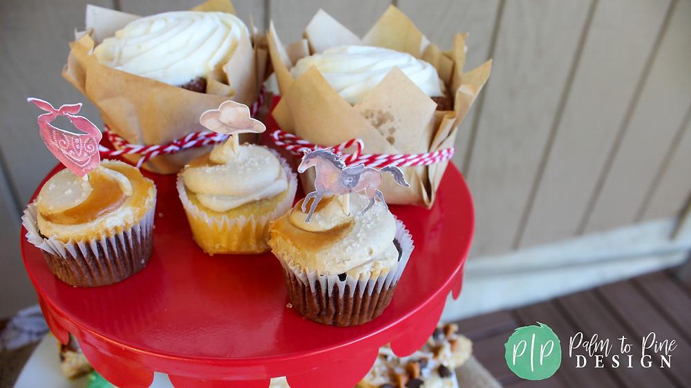 western birthday desserts