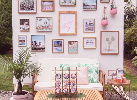 Rosé All Day   A Vintage Palm Springs Inspired, Favorite Things Party