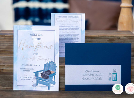 Favorite Things Party | Take me to the Hampton's