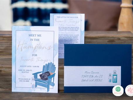 Favorite Things Party | Take me to the Hampton's