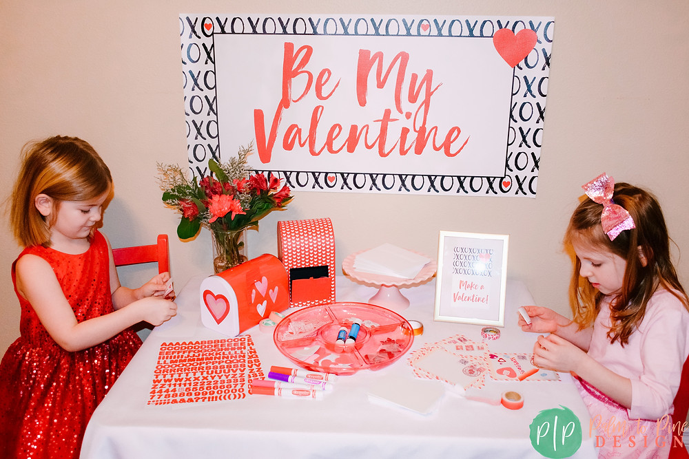 Kids Valentine Card Making Party