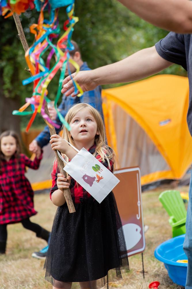 camping party pinata
