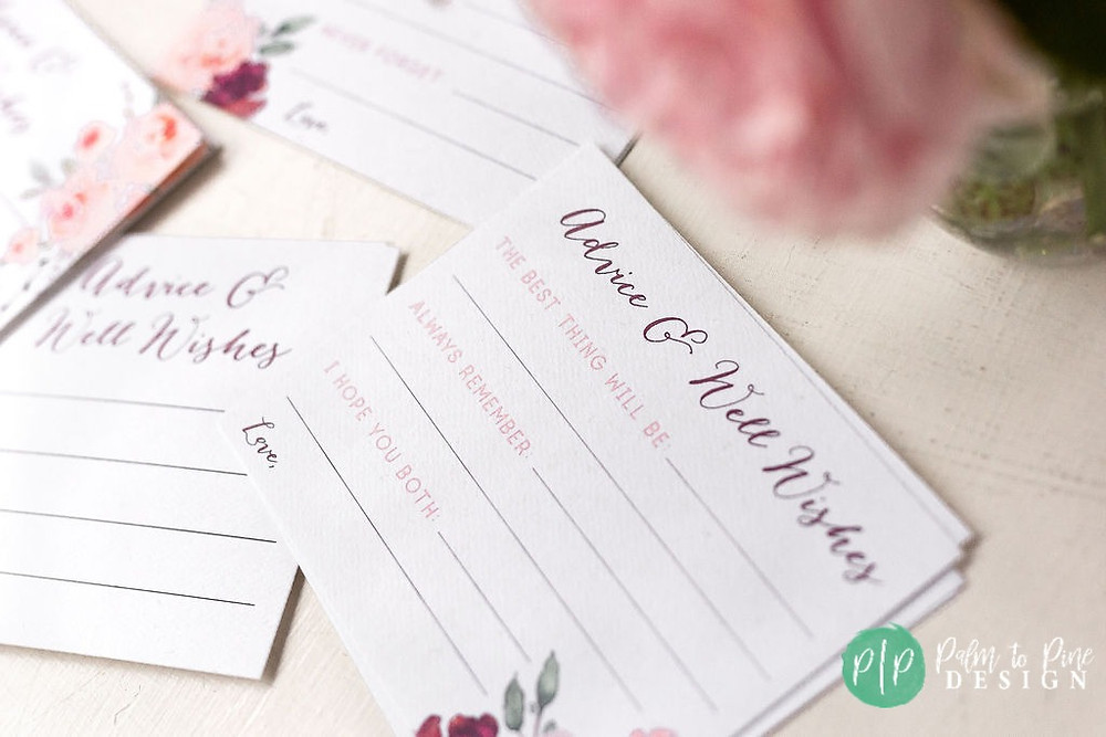 advice for the bride and groom game