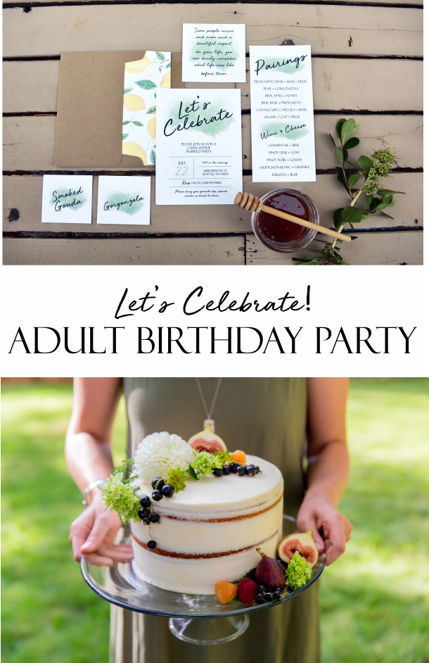 adult birthday party, outdoor dinner party ideas