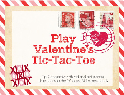 Valetine's tic tac toe