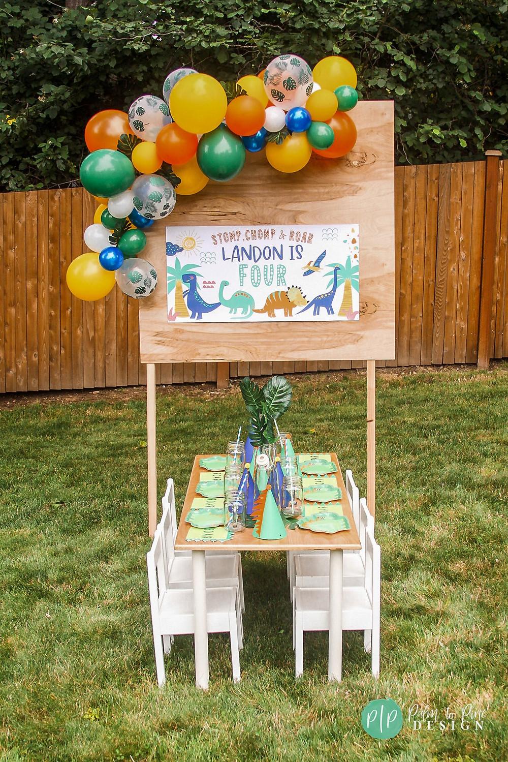 dino birthday party ideas, dinosaur birthday theme