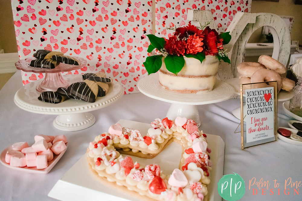 Valentines Dessert Table Ideas