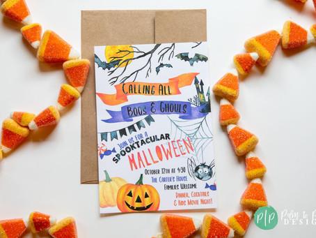 Kid's Halloween Party | Last Minute Halloween Movie Night | Halloween Play Date