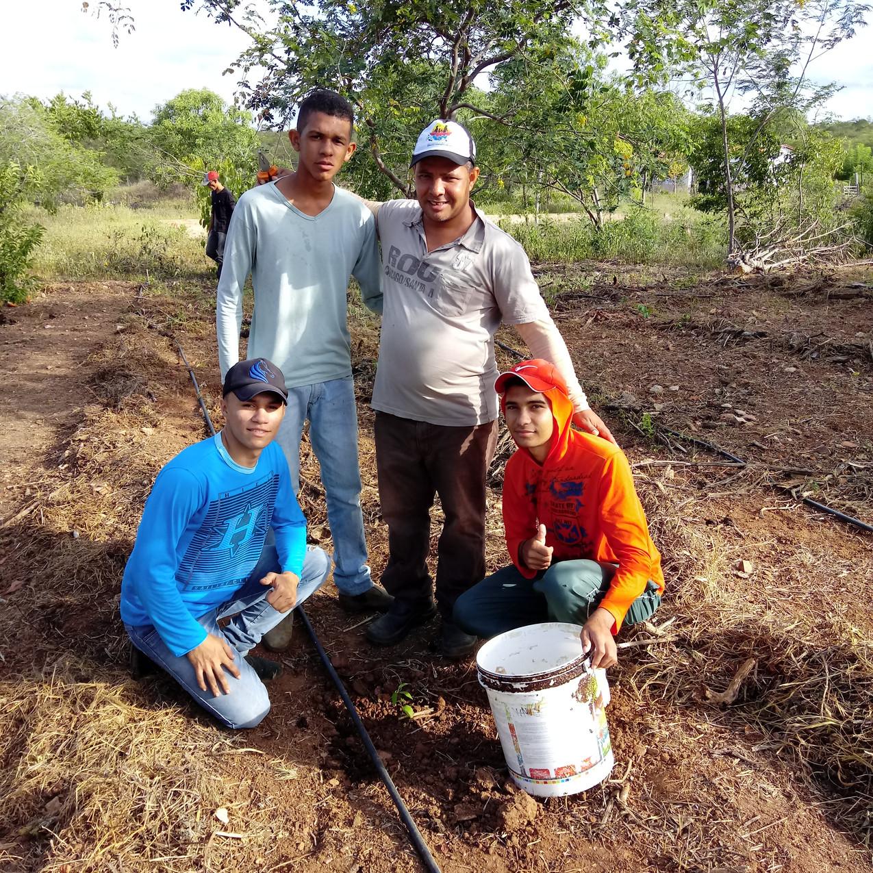 Plantio de mudas, Bioágua