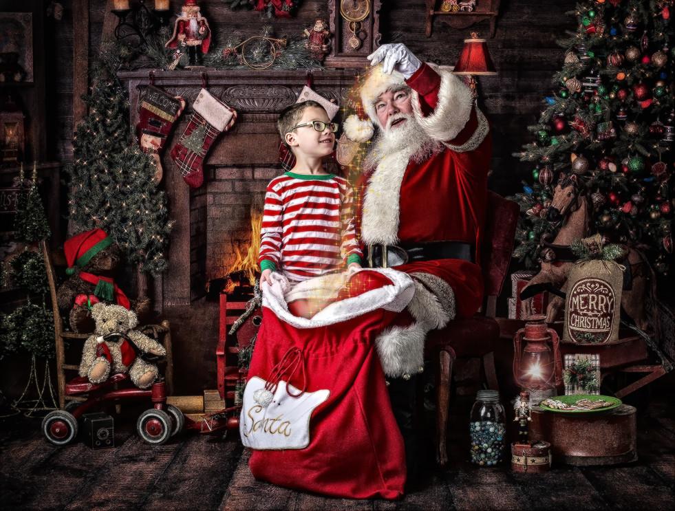 Meet Santa in Hendersonville NC