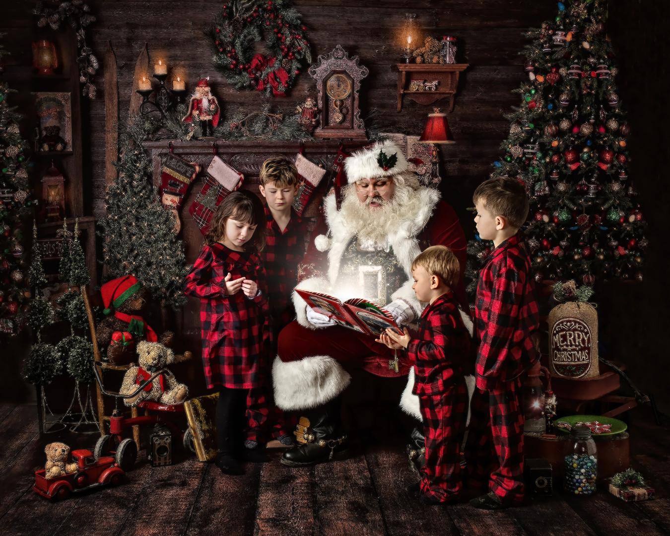 Santa with MdBride Children 8x10 Crop.jp