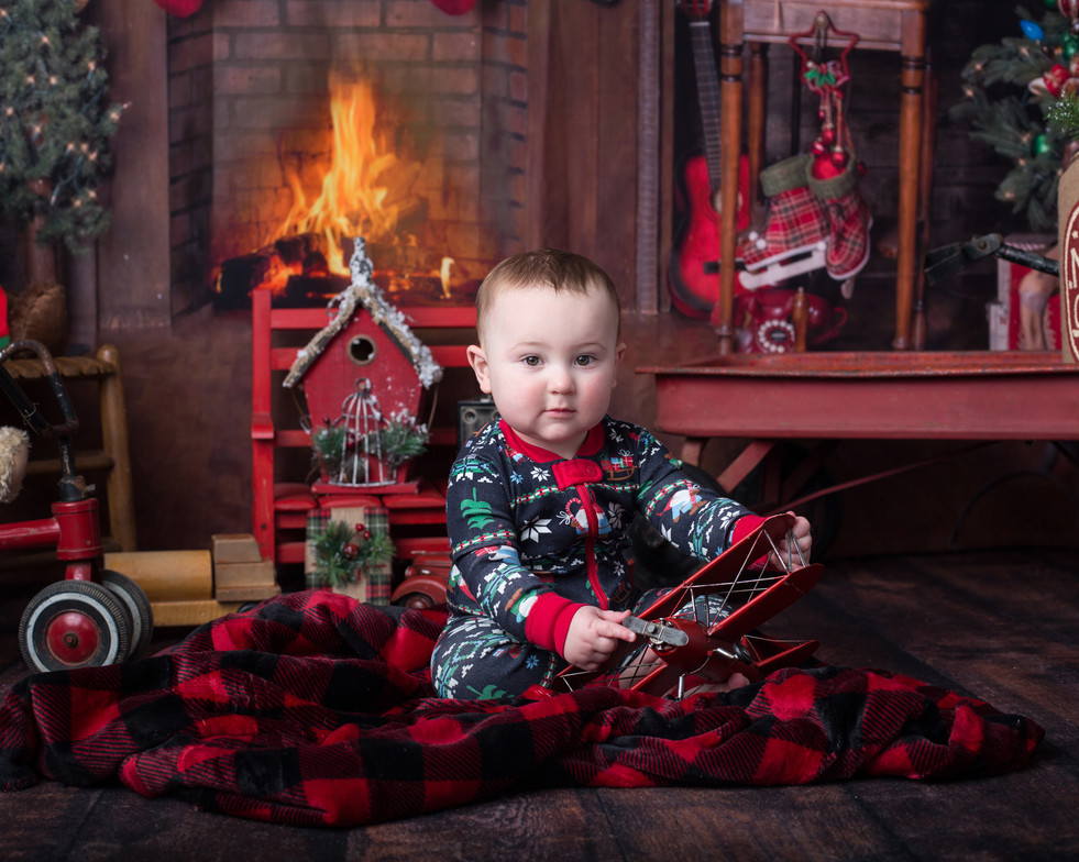 Christmas Photos in Hendersonville NC