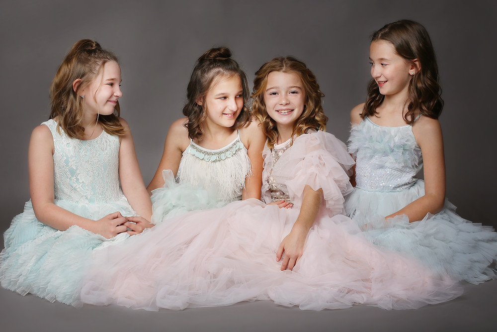 Girl Photo Party by Juls Buckman Photography in Hendersonville North Carolina