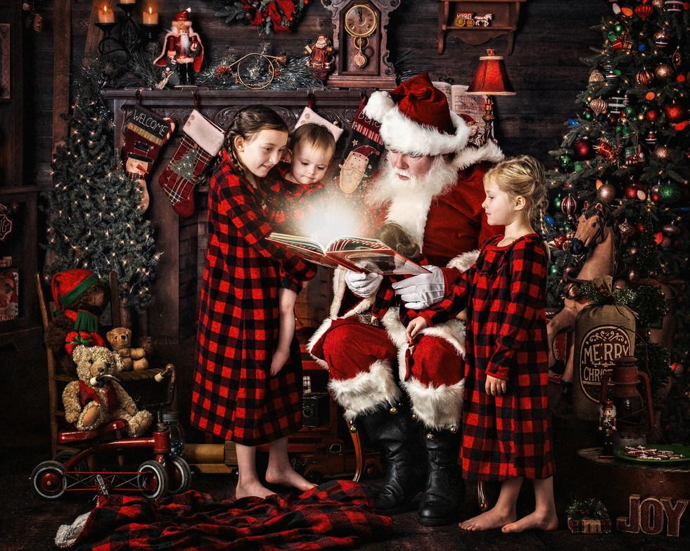 Hendersonville Christmas Events and Photo Sessions
