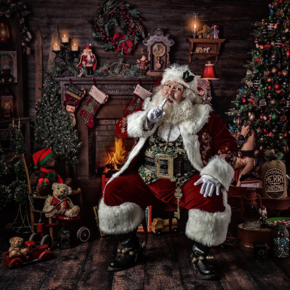 Meet Santa Claus in Asheville NC