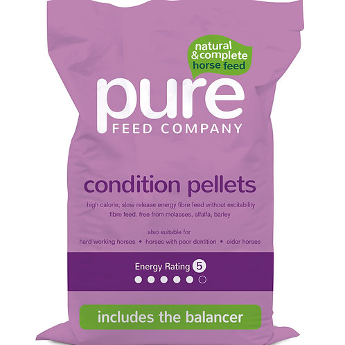 Pure Feed Pure Condition Pellets Horse Feed - 15kg