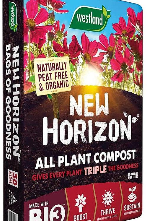 Westland New Horizon All Plant Compost 50Litres