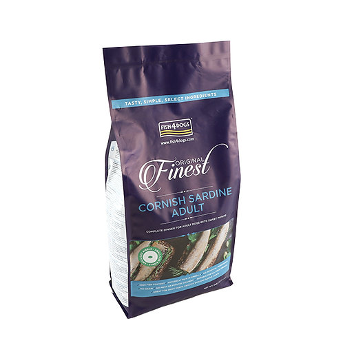 Fish4Dogs Finest Adult Sardine Complete Food Small Bite 2kg