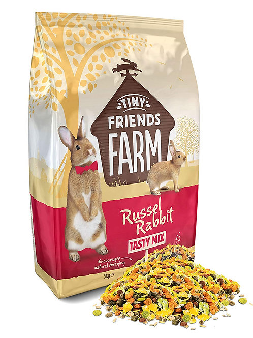Tiny Friends Farm Russel Rabbit Tasty Mix 5kg